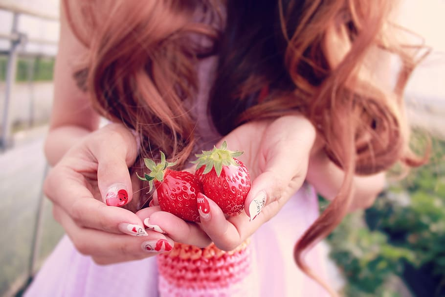 Strawberries contain antioxidants that are great for your skin