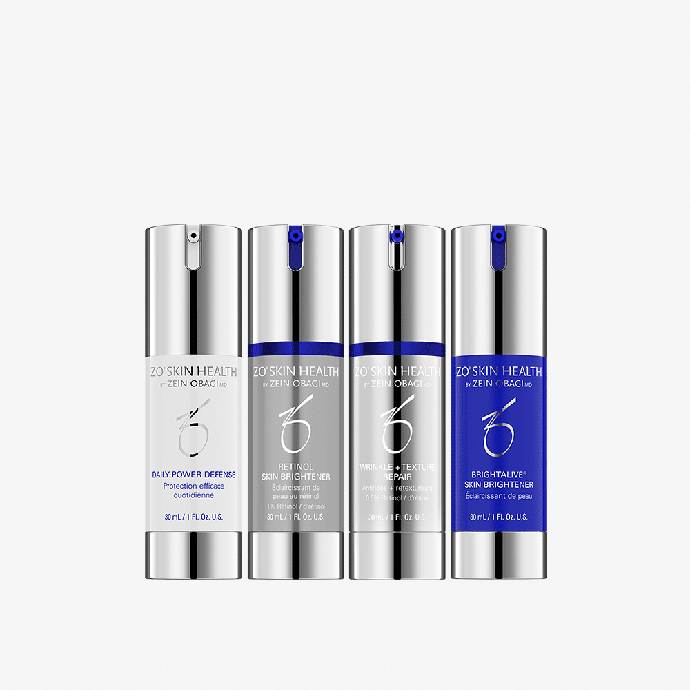 ZO Skin Brightening System and Texture (Non HQ, 1% Retinol)