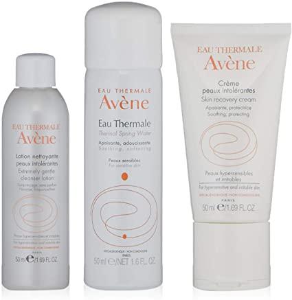 Avène Sensitive Skin Kit - 3 Step Routine