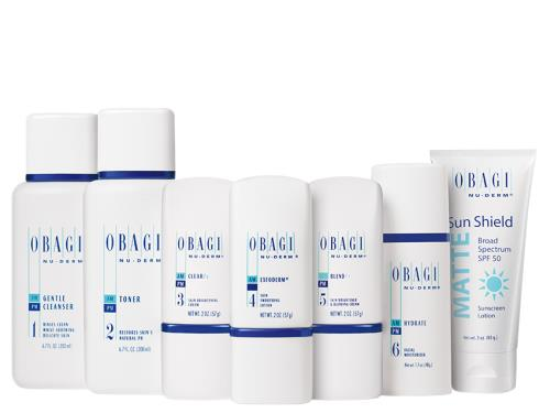 Obagi Nuderm Fx System Normal to Oily