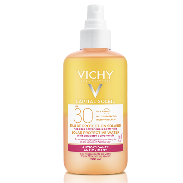 Vichy Capital Soleil Protective Water with Hyaluronic Acid SPF30