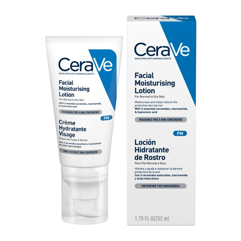 CeraVe PM Facial Moisturising Lotion 52ml